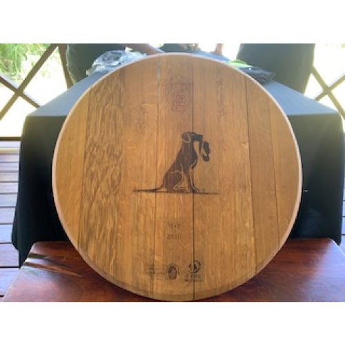 Ridgeback Barrel top branded board